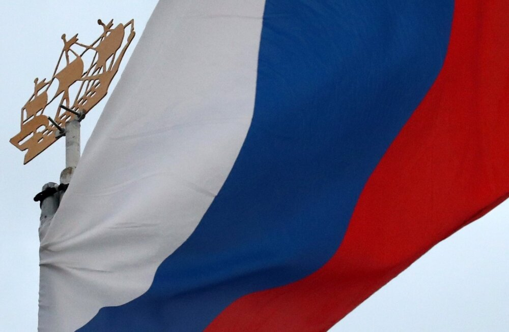 Venemaa lipp.