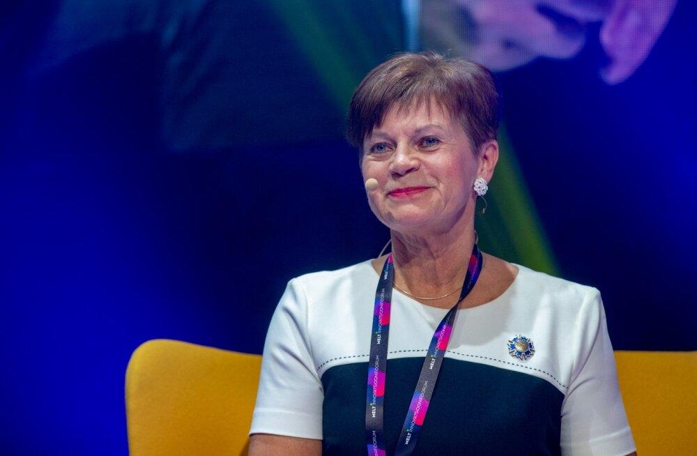Sirje Potisepp MELT innovatsioonifoorumil.