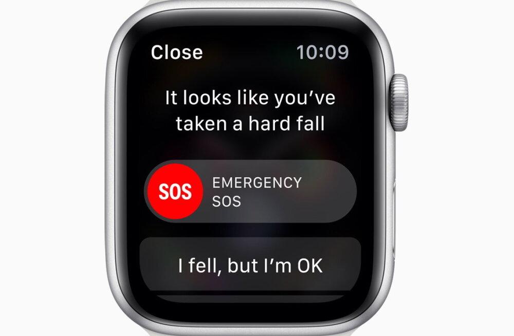 Veel üks edulugu: Apple'i kell päästis selgroo murdnud mehe elu