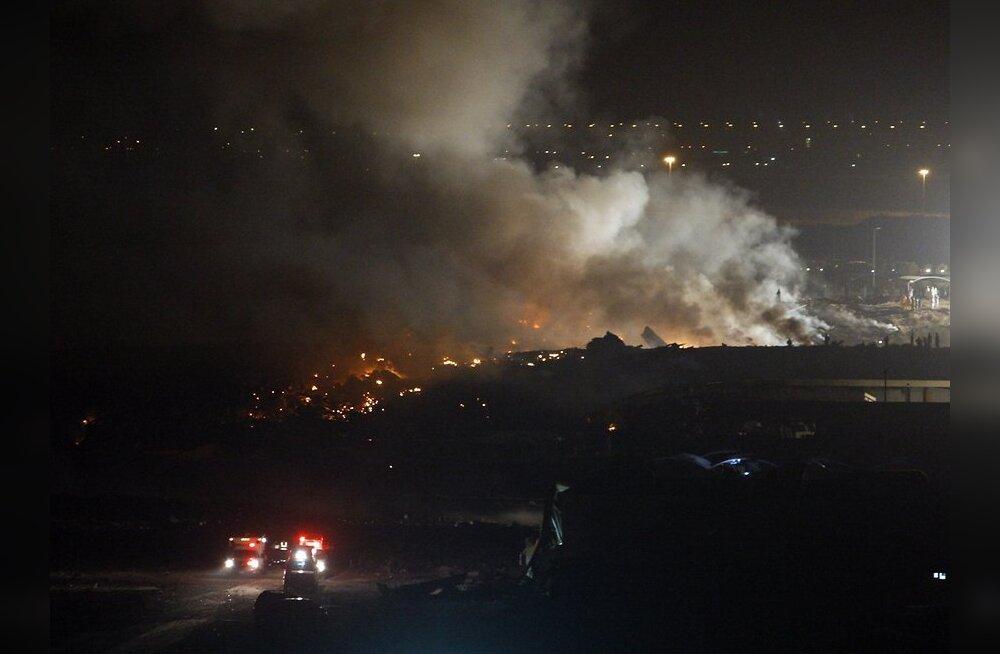 Kongo DV-s hukkus ÜRO lennukiga juhtunud õnnetuses 32 inimest