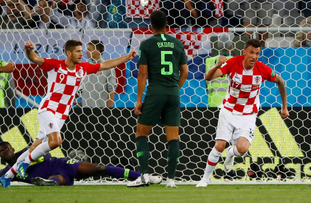 BLOGI | Horvaatia võitis omaväravast ja penaltist hambutut Nigeeriat