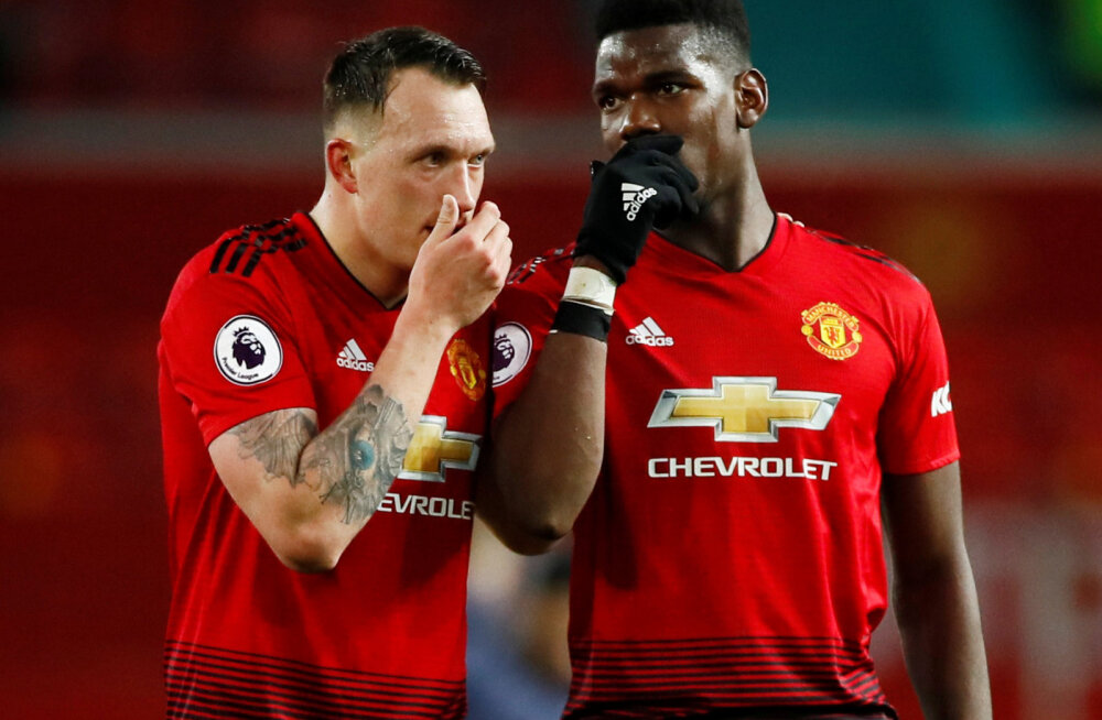 Phil Jones ja Paul Pogba