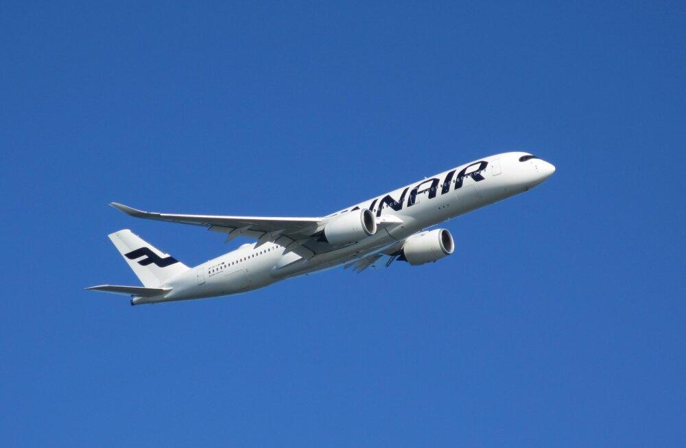 Finnair plaanib oktoobris veelgi lende vähendada, sealhulgas pea poole võrra Tallinn-Helsingi-Tallinn liinil