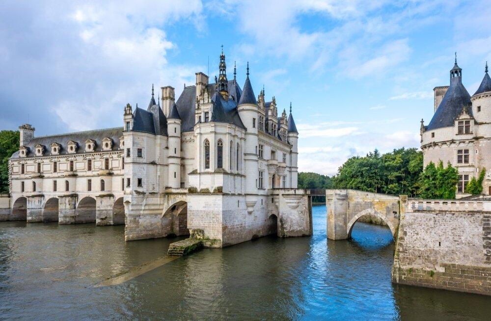 Loire'i oru pärli tiitlit kannab õigusega Chenonceau loss.