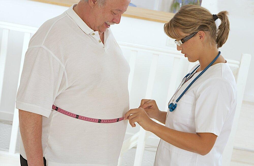 Liigselt suurenenud vööümbermõõt on märk metaboolsest sündroomist, mis on ka maksa rasvumise üks põhjuseid.