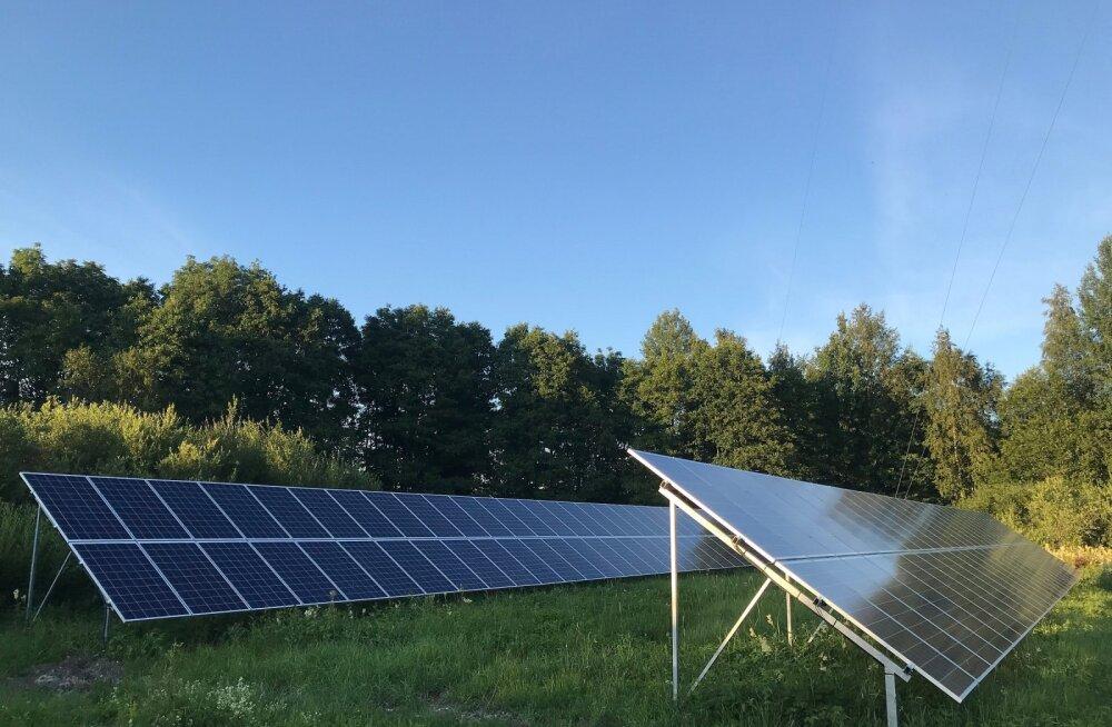 Levira Uuemõisa päikeseelektrijaam alustas tööd