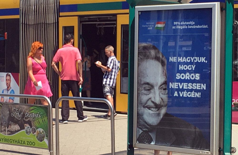 Ungari peaminister andis spioonidele käsu uurida Sorose võrku
