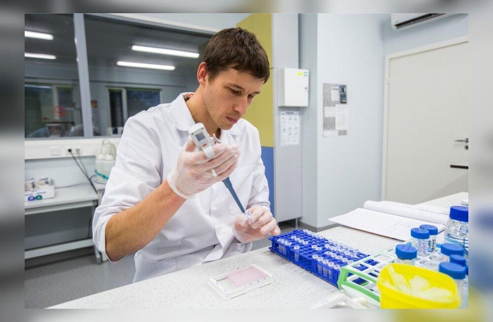 Ebola ravimi väljatöötamine (pilt on illustratiivne)