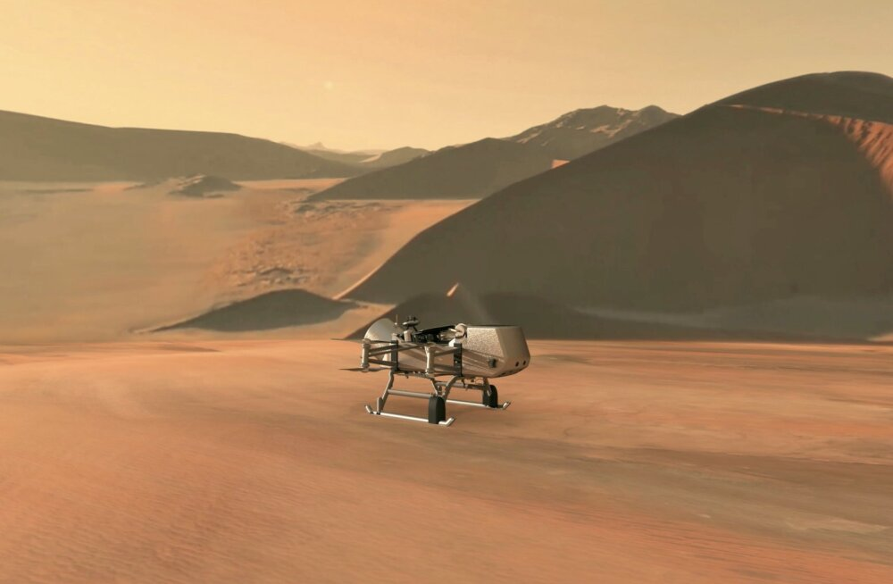 Droon hakkab uurima, et kas Saturni jäisel kuul peitub elu