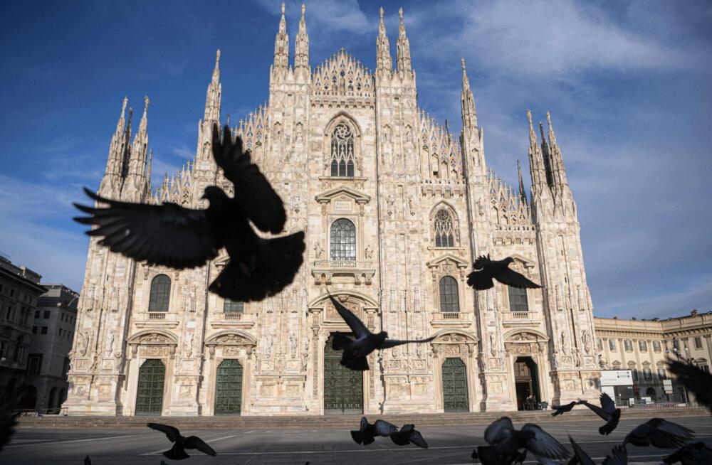 Head uudised Itaaliast: koroonaviiruse statistika teeb vähikäiku, viimati oli suremus sellisel tasemel enam kui kolme nädala eest