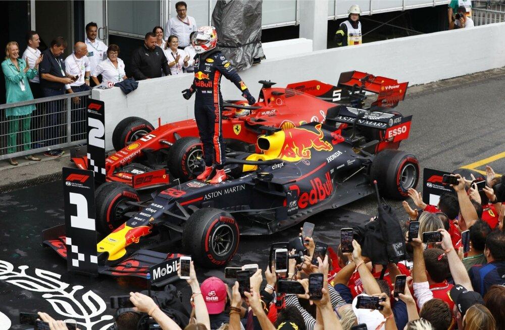 Max Verstappen oli Saksmaa GP-l kõige kõvem mees.