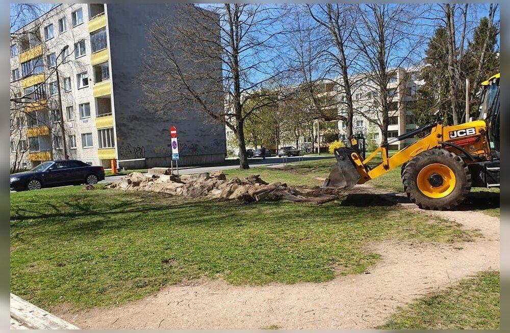 Haaberstis hävitatakse 18 amortiseerunud mänguplatsi, asemele tuleb muru