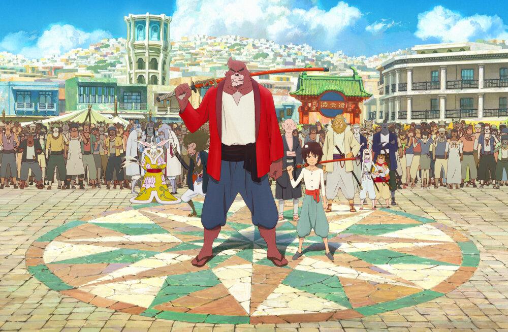 """PÖFFi lõpufilm on Oscarit püüdev pöörane Jaapani animatsioon """"Poiss ja koletis"""""""