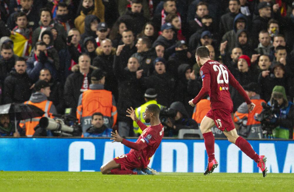 Liverpooli ja Atletico mäng 11. märtsil Anfieldil