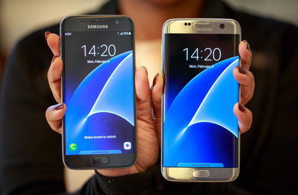 Samsung Galaxy Edge S6 <em>vs</em> Galaxy Edge S7