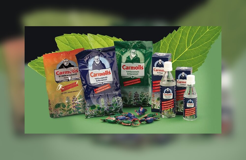 Carmolis — taimede väega mitme tervisehäda vastu