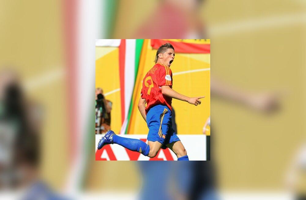 Hispaania ründaja Fernando Torres