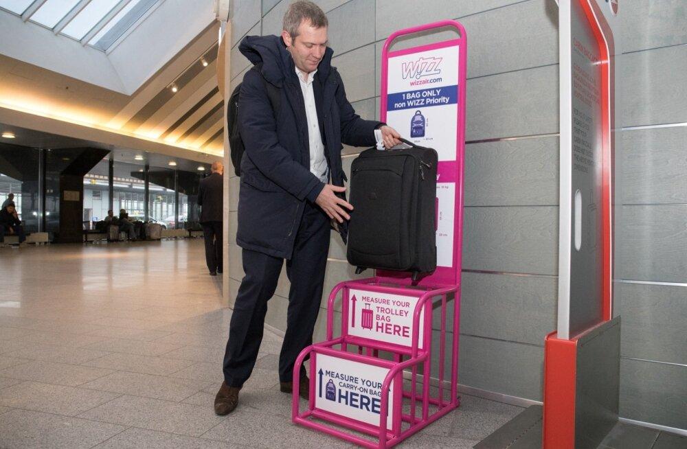 Wizz Airi pagasipoliitika