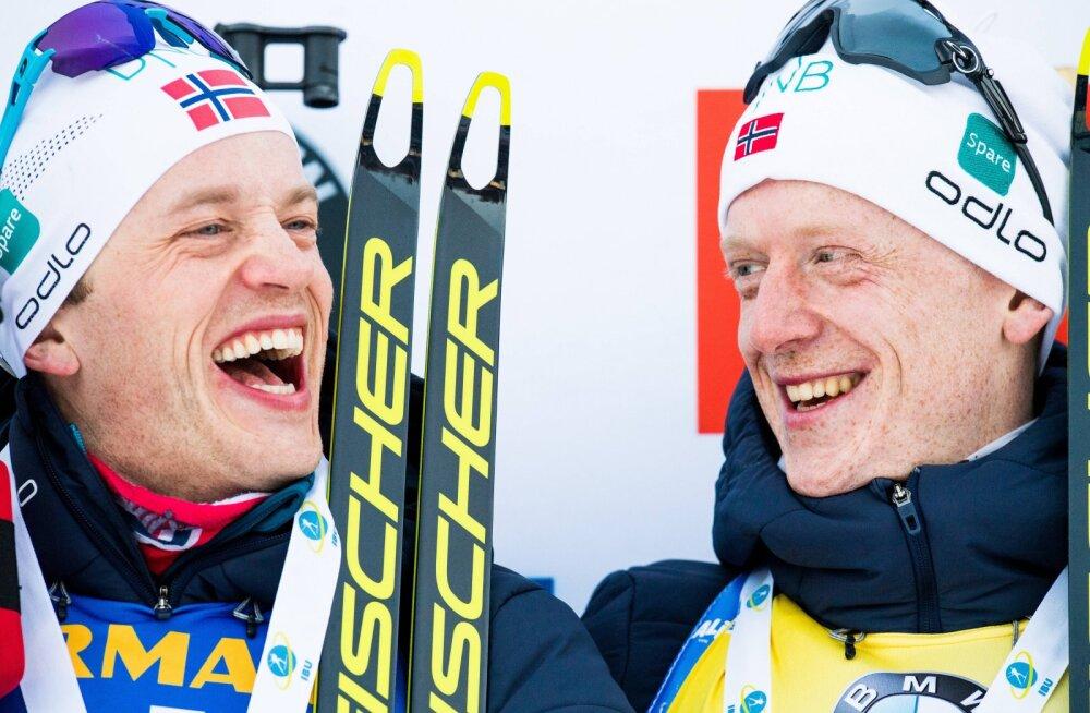 Tarjei Bö ja Johannes Thingnes Bö