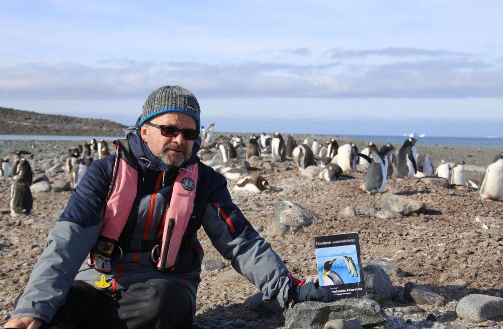 Tiit Pruuli kutsub linnarahvast Antarktika reisi muljeid kuulama