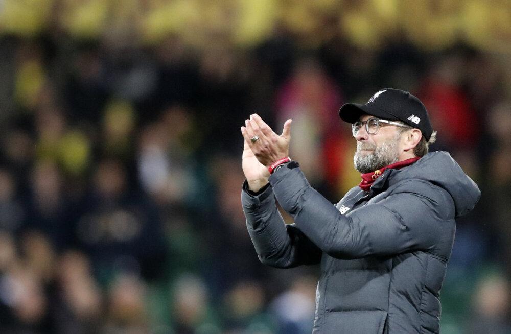 Ootamatult raske võidu saanud Liverpool astus järjekordse sammu tiitli suunas