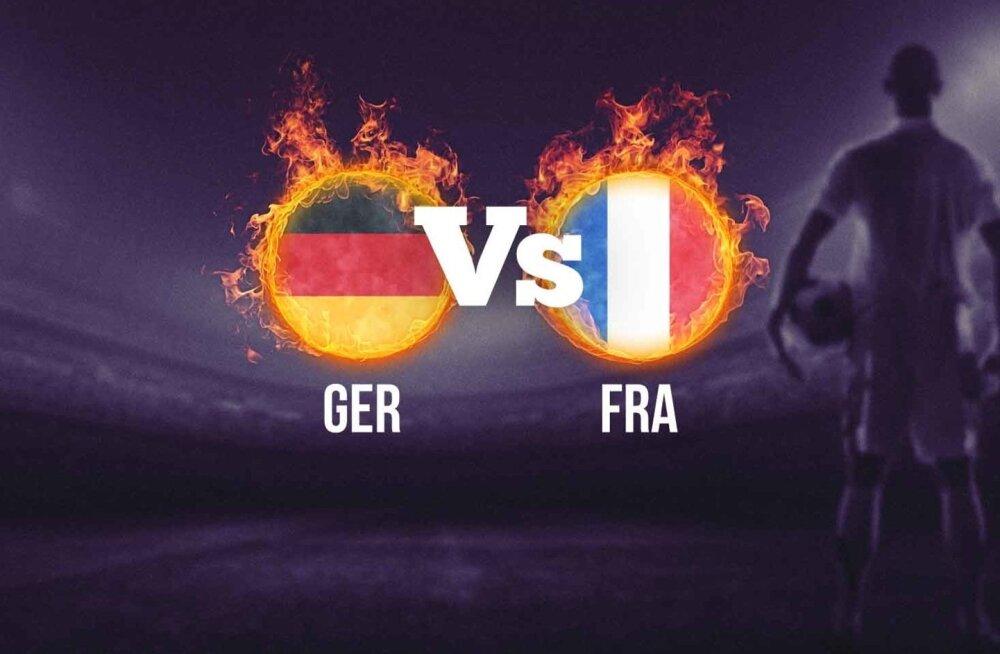 Saksamaa - Prantsusmaa
