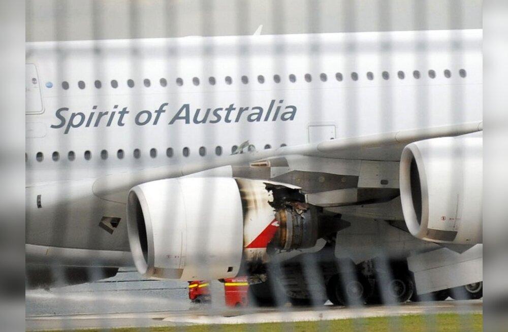 Qantas: Airbus A380 mootoritel võib olla konstruktsiooniviga