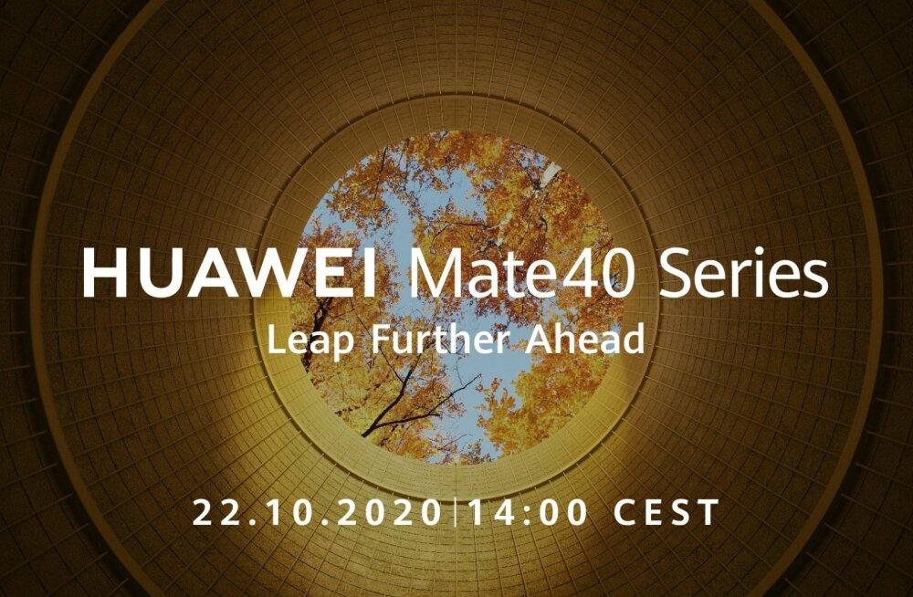 Huawei esitleb oma järgmist tipptelefoni kahe nädala pärast