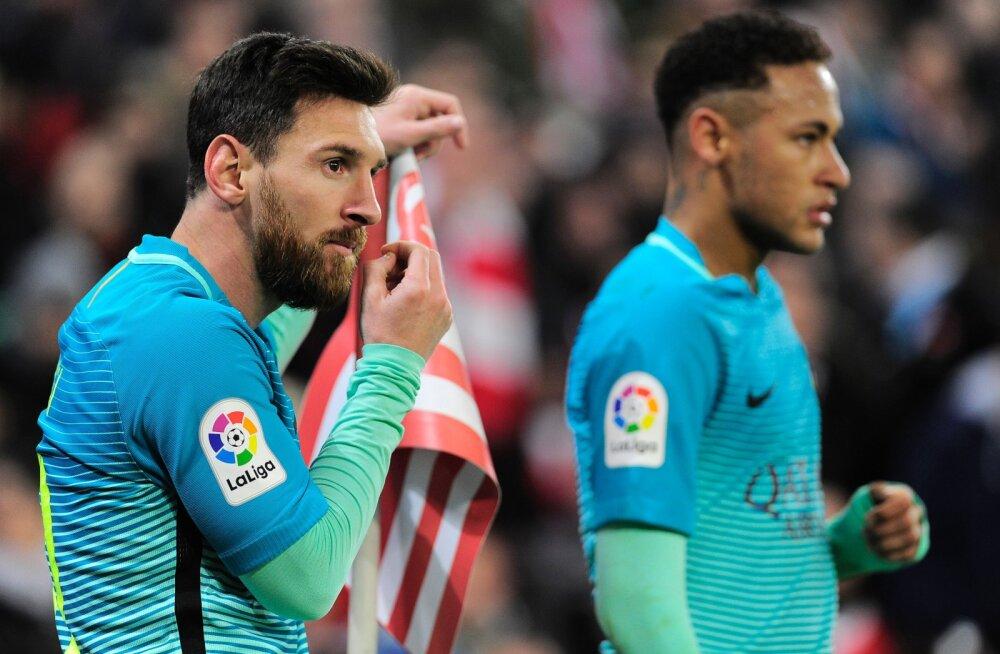 Barcelona endine president: Neymar on paremuselt teine jalgpallur maailmas