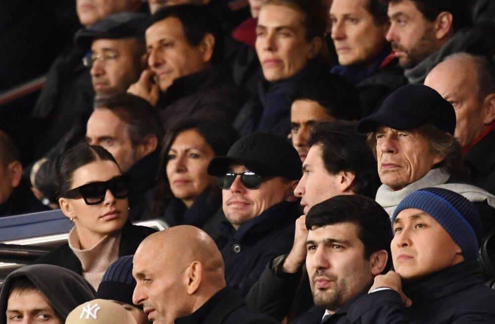 KEDA NÄHA! Meistrite liiga põnevusmatši vaatasid Mick Jagger, DiCaprio uue pruudiga ja Nurmagomedov