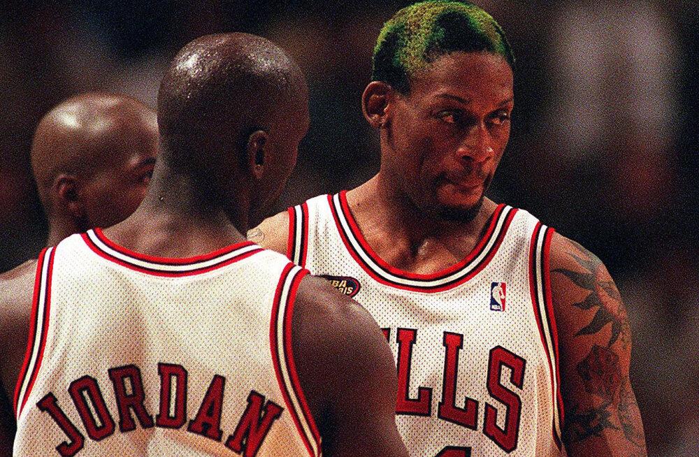Dennis Rodman Michael Jordani kritiseerijatest: nad ei olnud vaimselt piisavalt tugevad