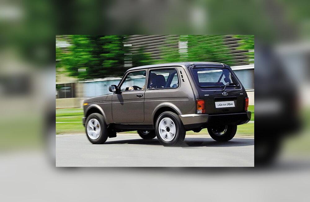Nelikvedu Venemaalt: AvtoVAZ avaldas Lada 4X4 Urbani