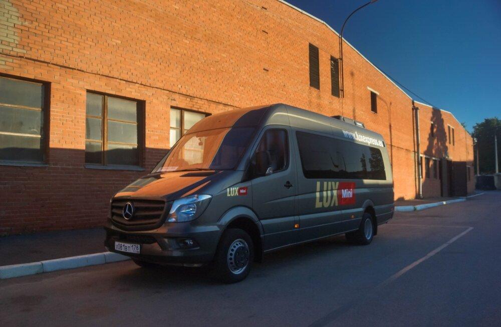 Ида-Вирумаа хорошо принял микроавтобусы, ездящие в Петербург