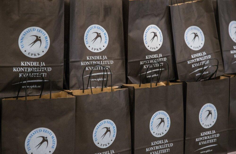 Kümne Eesti toidutootja tooted said pääsukesemärgi