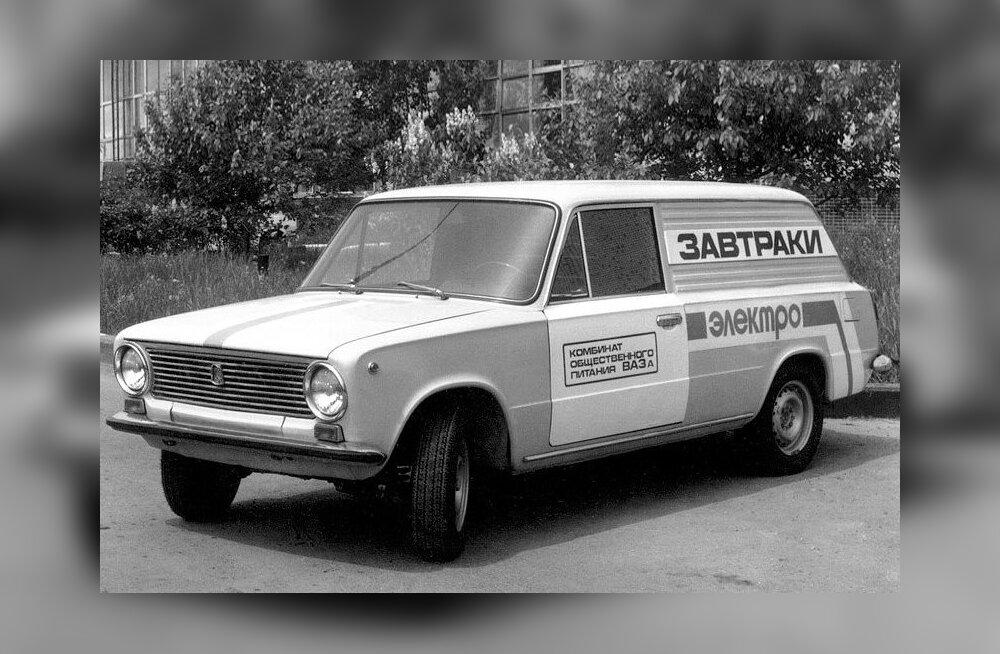 """Üllatav autoajalugu: nõukogude """"Tesla-auto"""" ehk VAZ-2801 prototüüp valmis aastal 1975"""