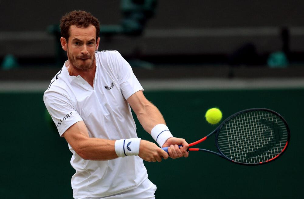 Endine esireket Andy Murray jätab US Openi vahele