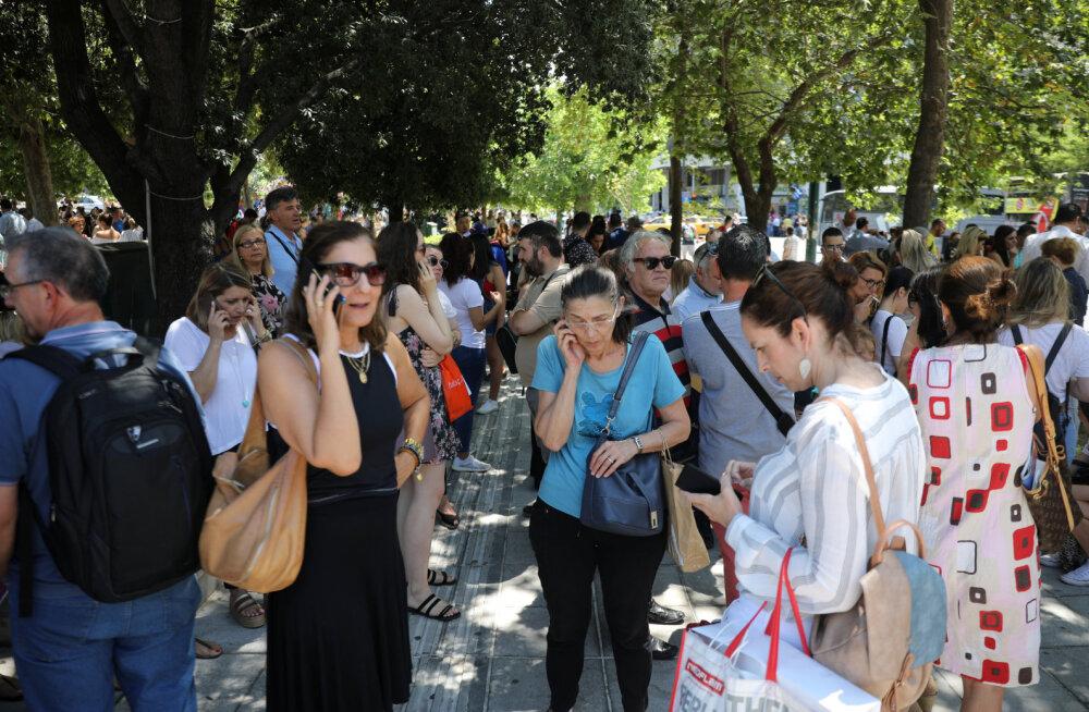 Ateenat raputas maavärin magnituudiga 5,0