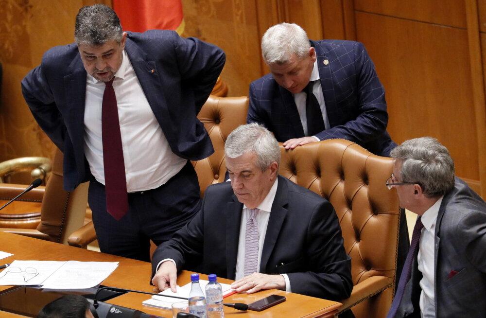 Rumeenias lagunes valitsuskoalitsioon