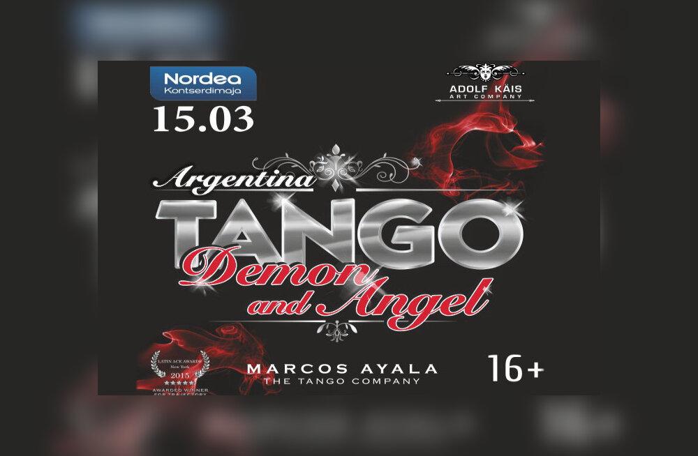 """Смотрите, кто выиграл билеты на шоу короля анрентинского танго """"Ангел и демон"""""""