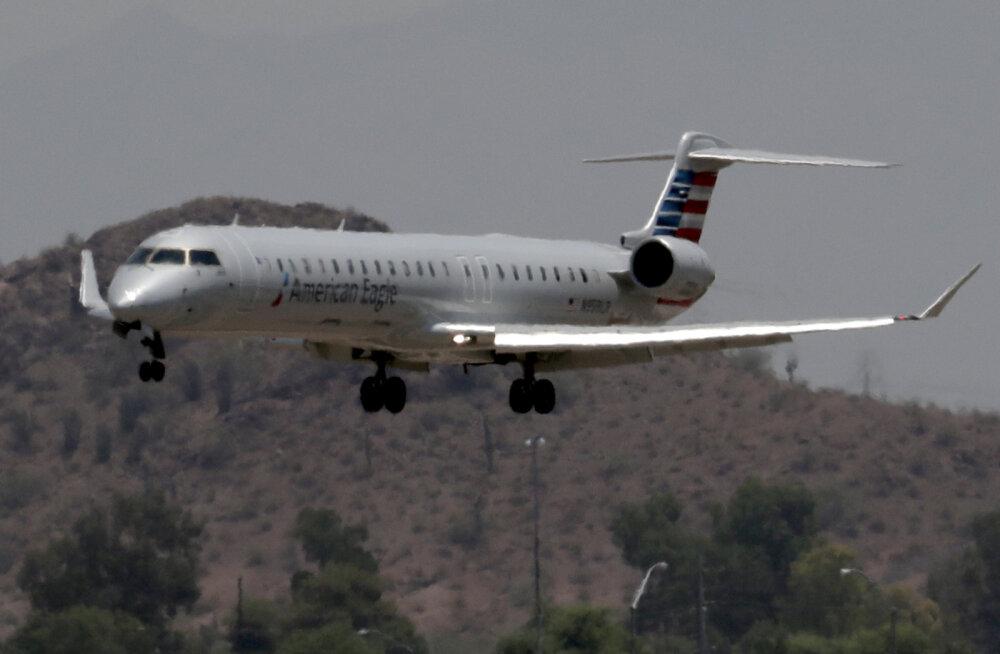Kuumalaine kõrvetav mõju: Arizonas Phoenixis ei saa lennukid palavuse tõttu õhku tõusta