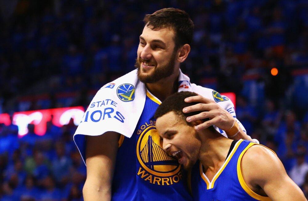 Golden State Warriors palkas taas NBA meistri