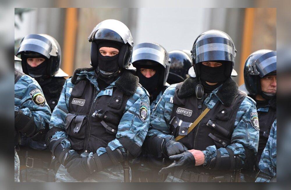 Ukraina opositsioon esitas seaduseelnõu eriüksuse Berkut likvideerimiseks