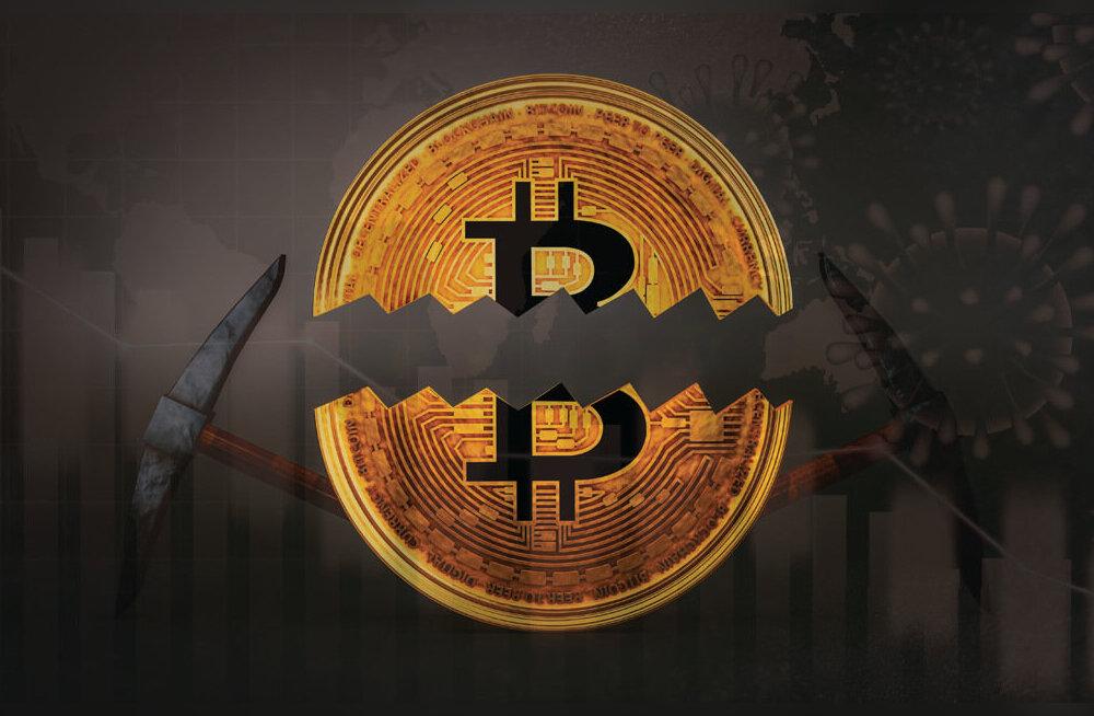Bitcoini pooldumine on kohe kohal. Kas Bitcoini hind tõuseb taevasse?