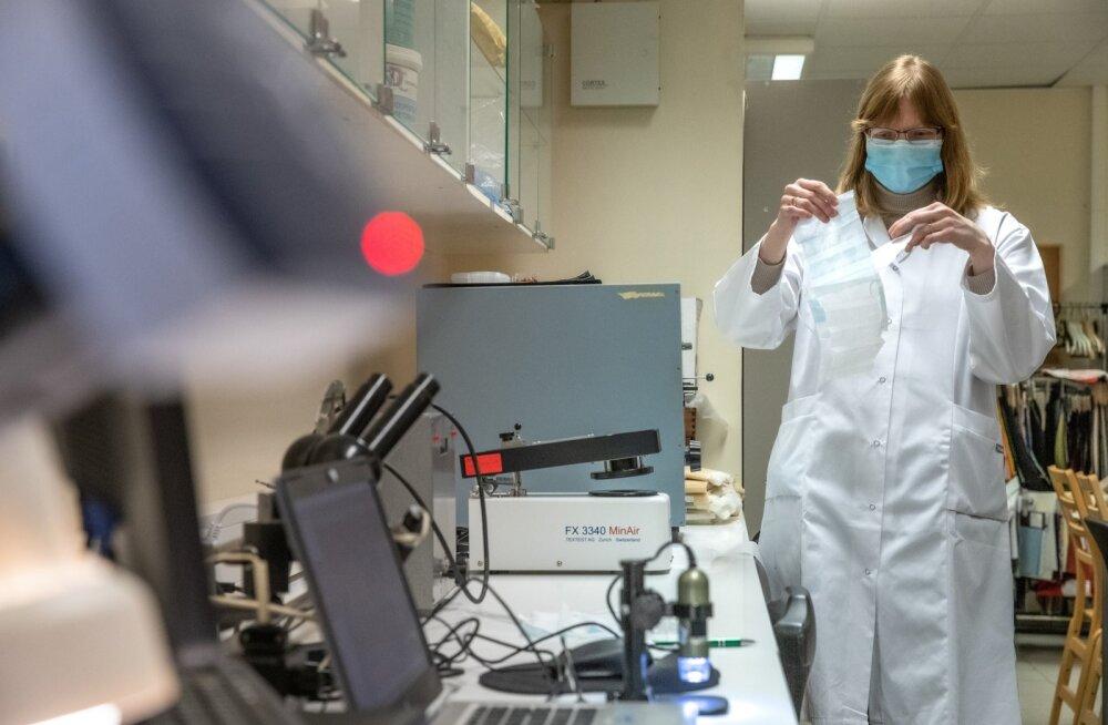 TalTech Polümeeride ja tekstiilitehnoloogia labor
