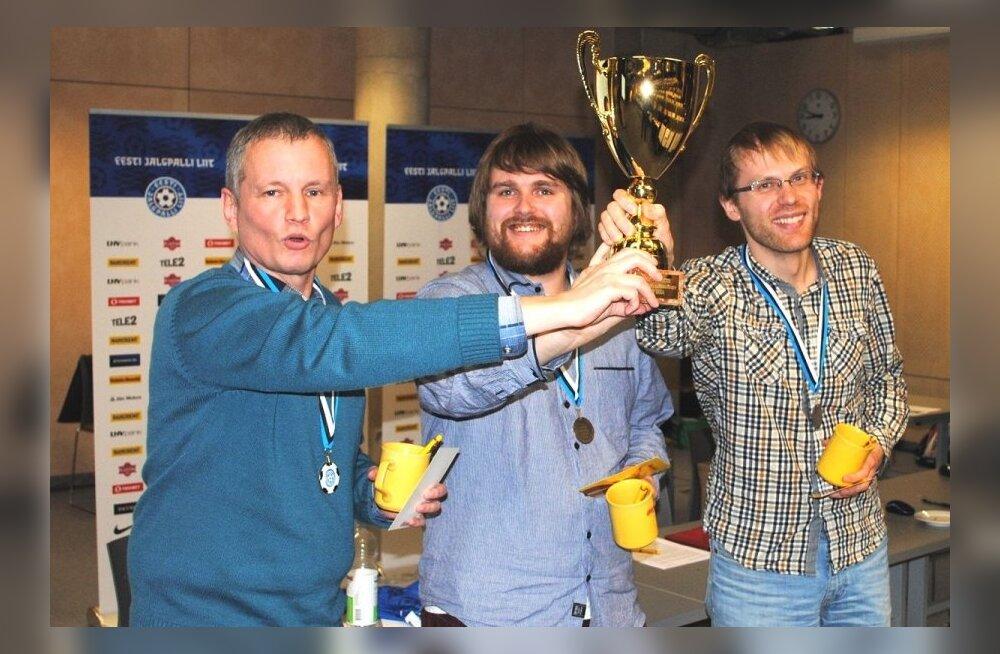 Jalgpalli mälumängu võitis Jalka meeskond