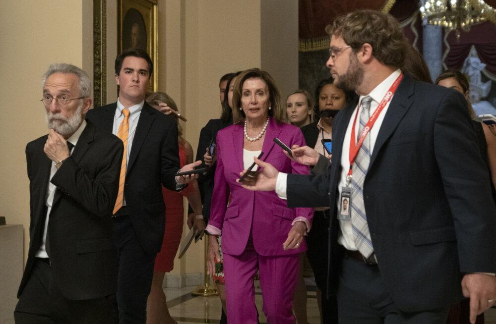 USA esindajatekoda mõistis oma resolutsiooniga Trumpi rassistlikud säutsud hukka