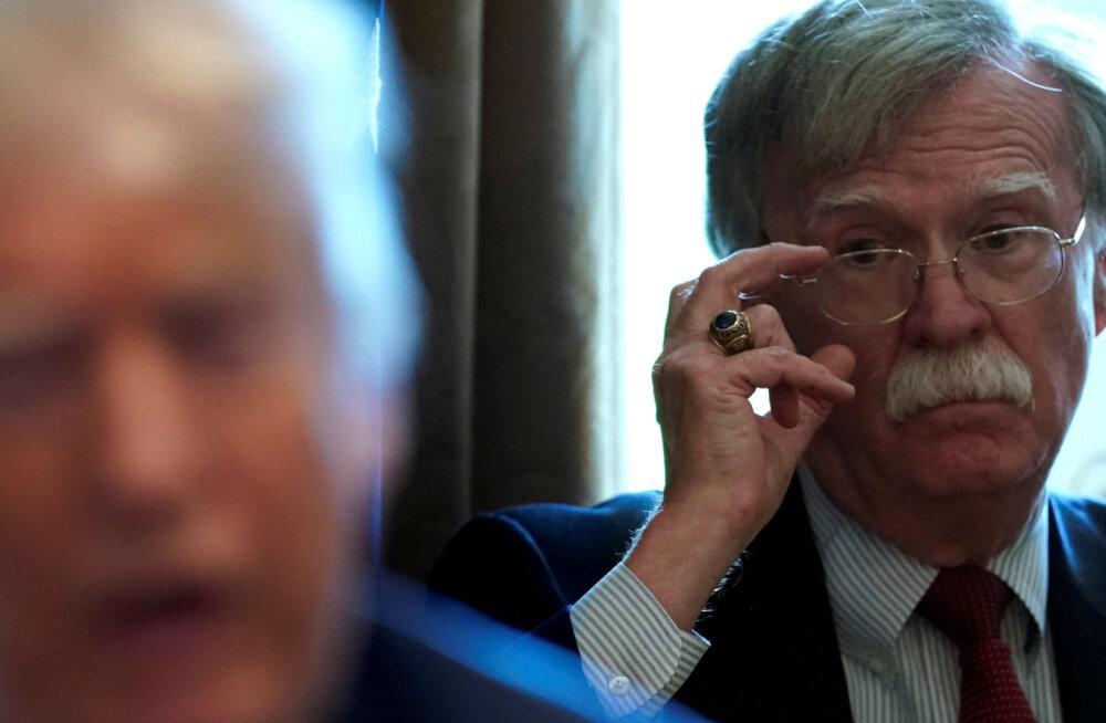 Endine nõunik Bolton: Trump on naiivne ja ohtlik ja ma loodan, et ta jääb ühe ametiaja presidendiks