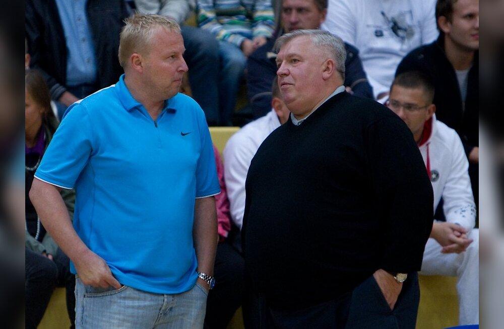 Aivar Kuusmaa ja Andres Sõber, korvpall
