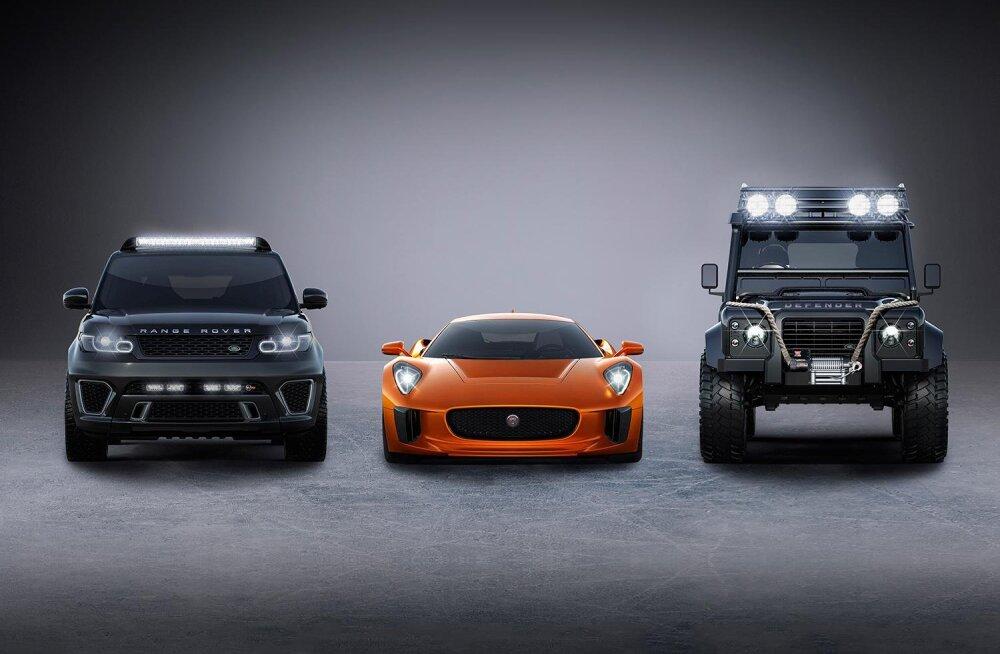 Esmatutvus: lahedad autod järgmises James Bondi filmis