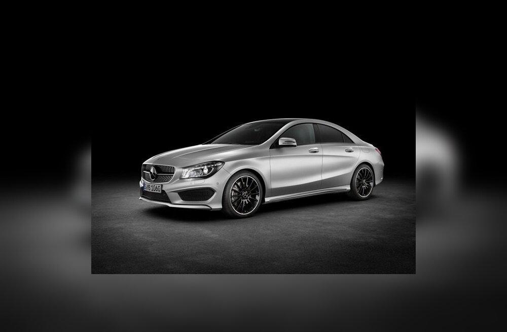 Mercedes-Benz avaldas uue kompaktse sedaani CLA